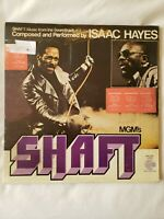 Rare Isaac Hayes Shaft Soundtrack Quadraphonic Vinyl Double LP Record. FAST SHIP