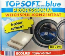 (2,00EUR/1l) ECOLAB PROFESSIONAL TOPSOFT BLUE WEICHSPÜLER KONZENTRAT 10L=20L