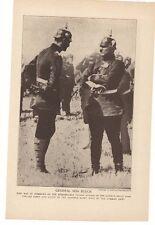 1914 General Von Kluck Lithograph