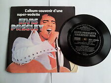 Elvis Presley - Greatest Hits 7'' Flexi Single (Reader's Digest)