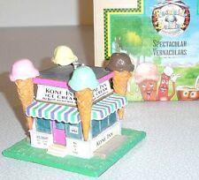 KONE INN DINER Giant Ice Cream Cone Scoops Building Lefton Roadside USA 1994 MIB
