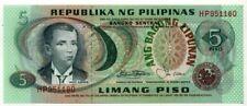 PHILIPPINES . 5 PISO . ANDRES BONIFACIO .