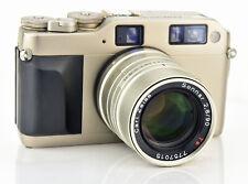 Contax G1 35mm Automatic Rangefinder Film Camera w/ Carl Zeiss Sonnar 90mm F2.8