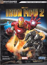 Iron Man 2 Official Strategy Guide PS3 PC XBOX 360 PB Brady 2010 Marvel Sega