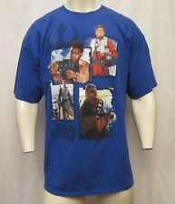 LUCAS FILM LTD STARS WARS CREW NECK T-SHIRT SIZE 2XL BLUE VIC-THOR1
