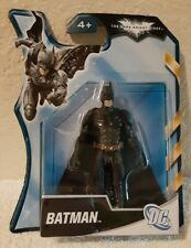 The Dark Knight Rises Batman 4 Inch Action Figure Carded Black Suit 2011 Y1453