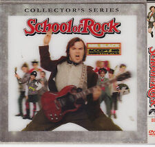 School Of Rock (Dvd, 2003. Thin 5x5 Sleeve) New And Sealed Lentricular Cover