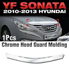 Bonnet Hood Guard Garnish Wind Deflector For HYUNDAI 2011-2014 YF Sonata / i45