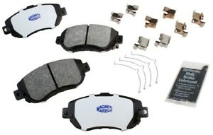 Disc Brake Pad Set-Ceramic Disc Brake Pad Front Magneti Marelli 1AMV300619