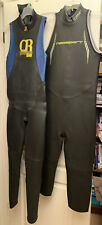Two Womens Sleeveless Triathlon Wetsuits