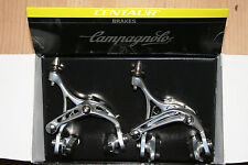 Campagnolo Centaur Skeleton D Brake Calipers Pair Front / Rear Silver NOS BOXED