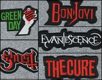 Band embroidery patch (various options)