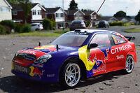 Citroen C4 WRC Radio Remote Control Car 1/10 Rechargeable Rc Car 20mph