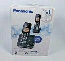 Panasonic KX-TGC362B Dect_6.0 2 Handset Landline Telephone 2 HANDSETS
