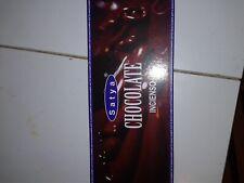 pack de 6 incienso   chocolate  sac/ satya    , 120 barillas