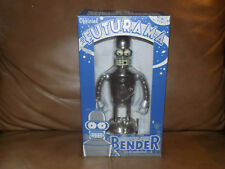 Official Futurama Bright'N'Shiny Bender Wind Up Robot in Box