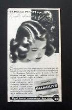 F524 - Advertising Pubblicità - 1953 - PALMOLIVE , SHAMPOO