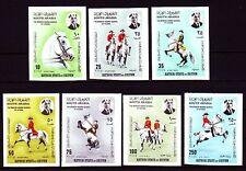 Aden Kathiri 1967 ** Mi.150/56 B Pferde Horses Schule