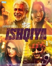 Dedh Ishqiya DVD - 2014 Bollywood Movie DVD / Madhuri Dixit, Huma Qureshi, Arsha