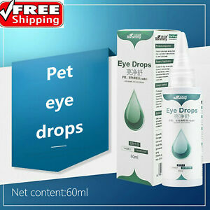 Dog Cat Eye Drops Anti-inflammatory Bactericidal Stain Remover Bright Eyes 60ml
