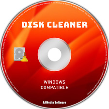 Disk Cleaner - Hard Drive Disk Cleaner Clear Software Computer Program for Windo