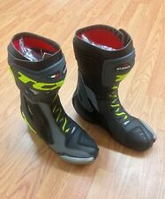 TCX MEN'S BOOTS Sizes US 7, 8, 11 Racing 7651 RT Race Pro Air BLK/GREY/YEL FLUO