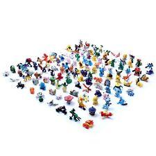 120 piezas Pokemon MINIFIGURA 2-3cm Acción Figuras en Lindo Juguetes aleatorio
