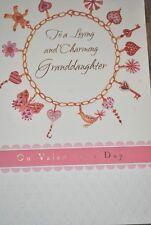 Bella Greetings Card #11723 VGDA-Loving & Charming Granddaughter Valentine's Day
