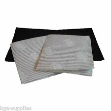 Cooker Hood Filters Kit for BOSCH Extractor Fan Vent Grease Carbon Filter