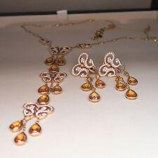 Exclusives Chopard Collier Kette Copacabana Diamant gelbe Saphire 43.000,-€