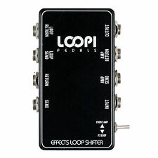 Effects Loop Switcher Pedal Patchbox Switch - Loopi Pedals