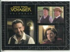 Star Trek Voyager Quotable Best Of The Holodeck Chase Card H8