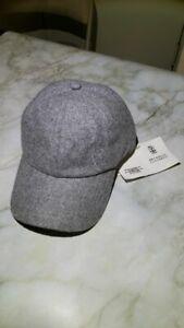 Brunello Cucinelli Wool Baseball Gray Cap (Original, New)