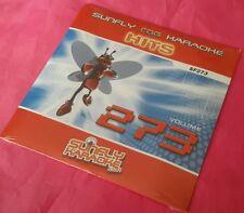 Karaoke cd + g disc Sunfly hits vol 273, voir description 15 pistes/arts