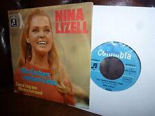 """Nina Lizell, Die Farben meiner Liebe, Sand lag am Meeresstrand, EMI 1971, 7"""""""