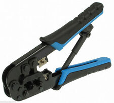 100% Brand New RJ45 RJ11 Cable Crimping Tool  For Networking