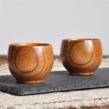 Wooden Cup Wood Coffee Tea Beer Juice Milk Water Mug Primitive Handmade Natural