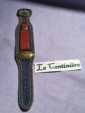 Ancien Fleurus Bracelet Canadien Force Pour Montre 18mm Jeans Style