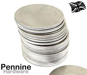 75mm Ø Mild Steel Metal Blank Round DISCS - Flat Sheet Circle