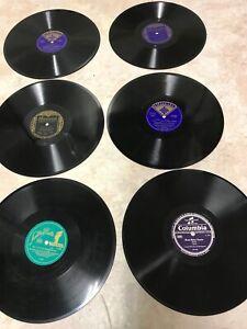 12 Schellackplatten im Album