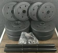 40 lb Adjustable Dumbbell Weight Set - CAP Vinyl Set - FAST ⚡️⚡️ FREE SHIPPING