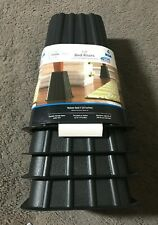 Mainstays Home Management Tall Bed Risers, Black, 4 Pack
