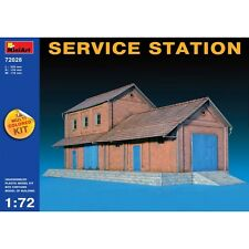 Miniart 72028 Service Station Multi Colored Kit WWII Military Diorama 1/72