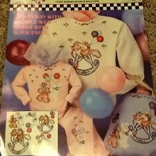 Bunnies, Bears & Balloons Bon-sew Appliqués