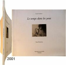 Temps dans les yeux 2001 dessins Lionel Guibout Pascal Bonafoux galleria Leone