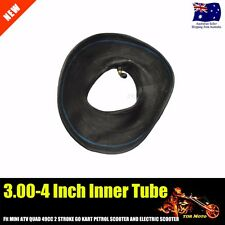"1Pc 3.00 - 4  4"" INCH Inner TUBE ATV QUAD Bike Gokart Buggy Mower Bent Valve AU"