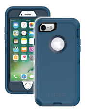 New! OtterBox Defender Case for iPhone 7 (ONLY) w/Clip On Holster BLUE 77-53894