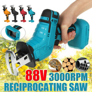 88V Cordless Electric Reciprocating  Garden 1 Blades Wood Cutting Pruning