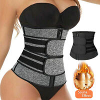 Women Waist Corset Trainer Sauna Sport Yoga Weight Loss Body Shaper Slimmer Belt