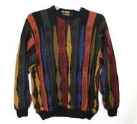 Vintage Merrill Sharpe Mens size M 50 Cosby Old Man Italian Sweater Wool Blend